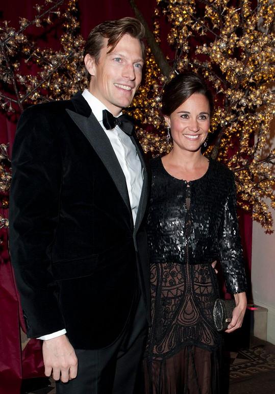 Pippa Middleton se po třech letech rozešla s Nicem Jacksonem.