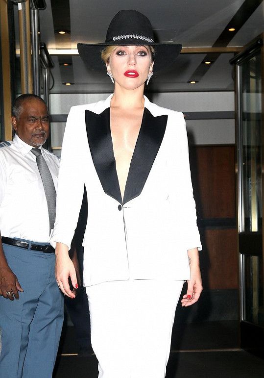 Lady Gaga okouzlila New York.