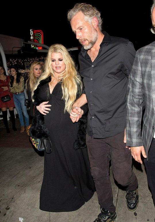 Jessica s manželem Ericem Johnsonem