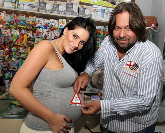 Andrea Pomeje už brzy porodí dceru Aničku.