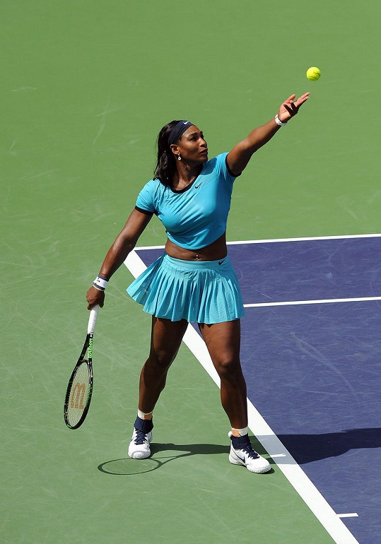Serena Williams a další z jejích proslulých sexy oblečků na kurty...