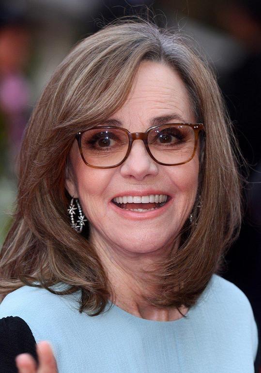 Dvaasedmdesátiletá herečka vypadá skvěle.
