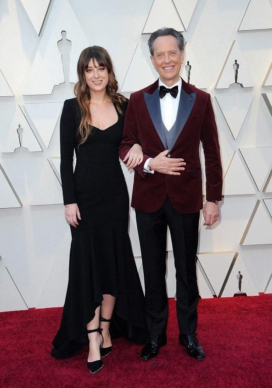 Richard E. Grant s dcerou Oliviou, která je také herečkou.