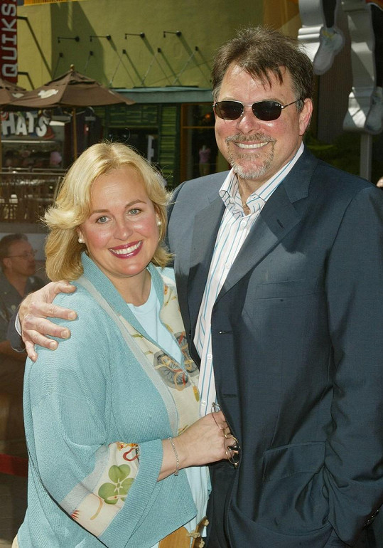 Frakes s manželkou Genie Francis