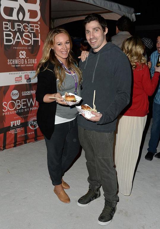 Haylie se snoubencem Mattem Rosenbergem.