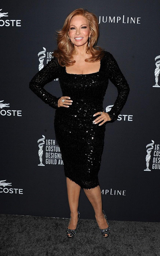 Raquel Welch má stále skvělou postavu.