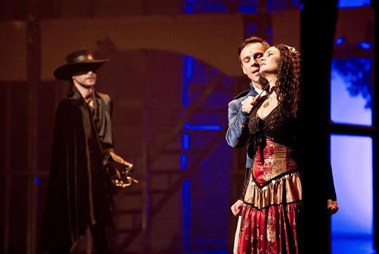 Monika při posledním představení