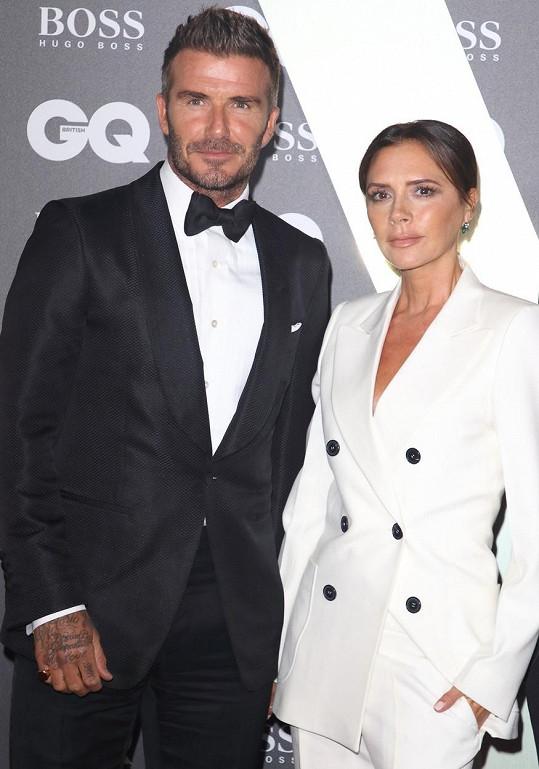 Victoria a David jsou manželé už 22 let.