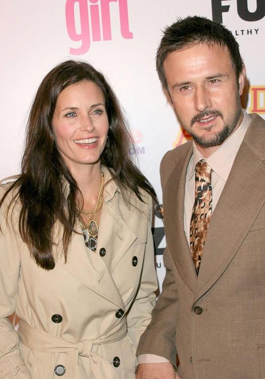 Courteney Cox a David Arquette tvořili manželský pár.
