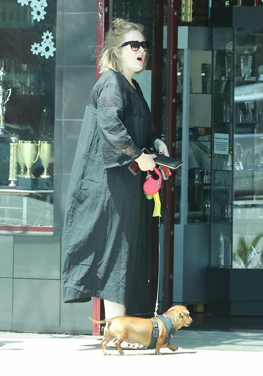 Tyto šaty Adele vůbec neprospěly...