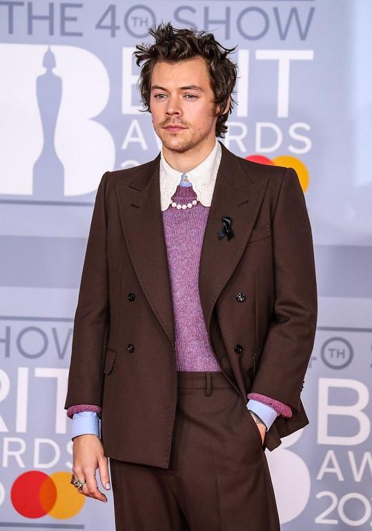 Harry Styles rád kombinuje pánský a dámský styl.