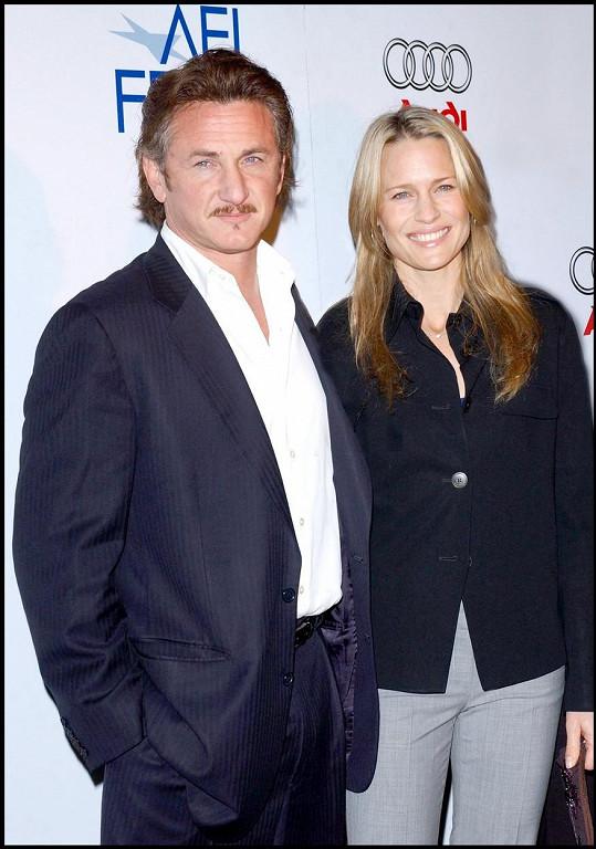 Robin Wright a Sean Penn tvořili 14 let manželský pár.