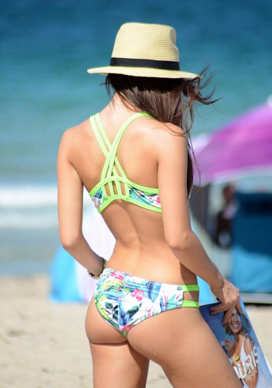 Lisa Opie patřila k ozdobám pláže v Miami.