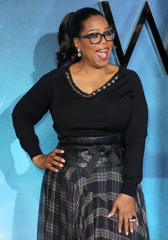 3. Oprah Winfrey - 2,8 miliardy dolarů