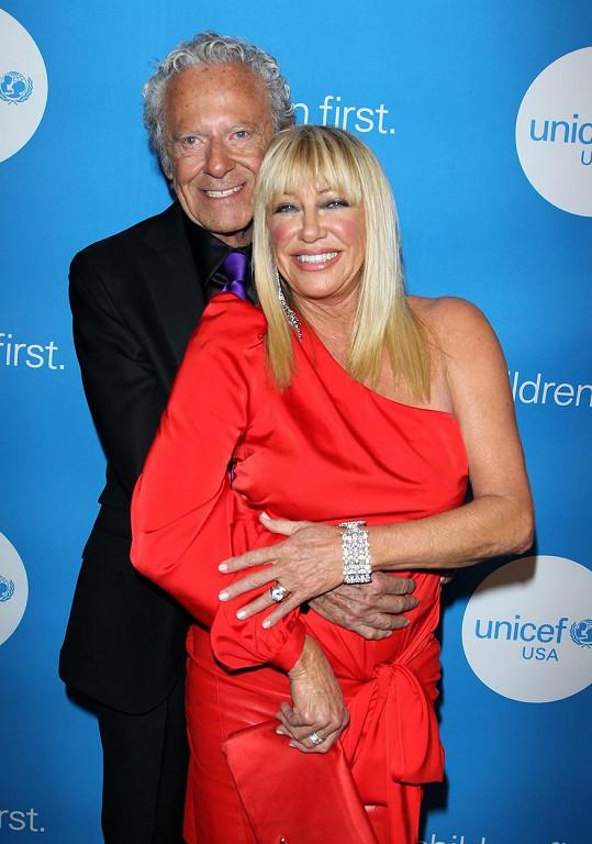 Somers s manželem Alanem Hamelem.