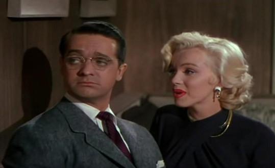 Marilyn Monroe v písni Bye Bye Baby.