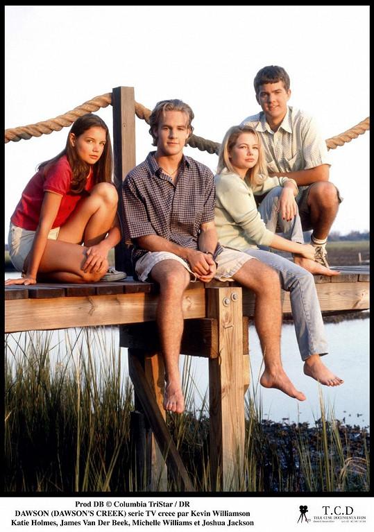 S kolegy v seriálu Dawsonův svět