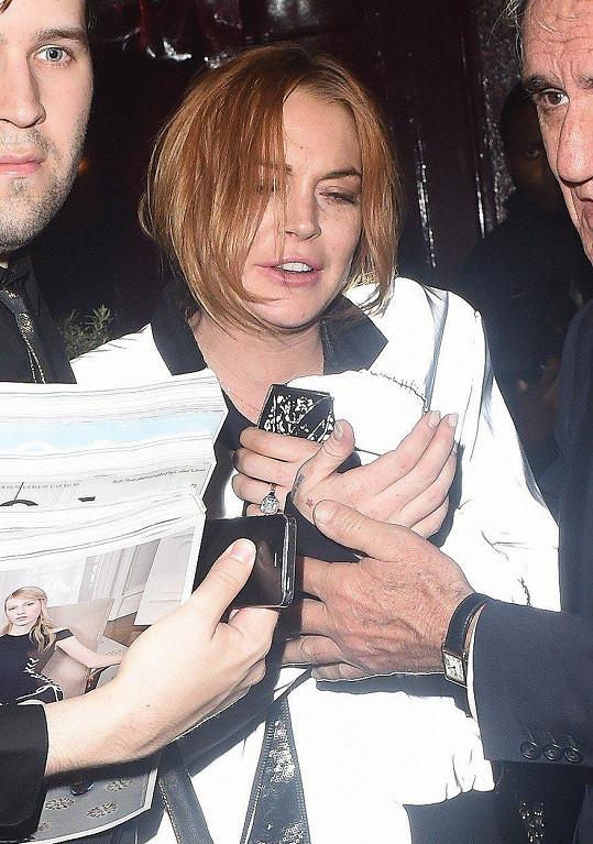 S Lindsay Lohan se jednu dobu nedalo vydržet.