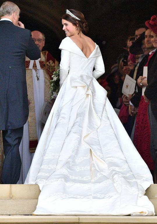 Princezna se vdávala v roce 2018.