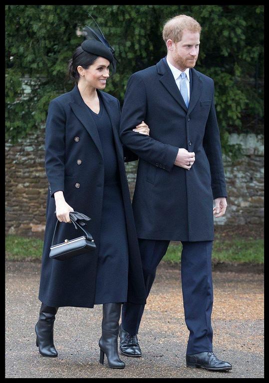 Vévoda a vévodkyně ze Sussexu čekají první dítě.