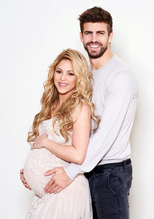 Shakira a Gerard Piqué mají už druhého potomka.
