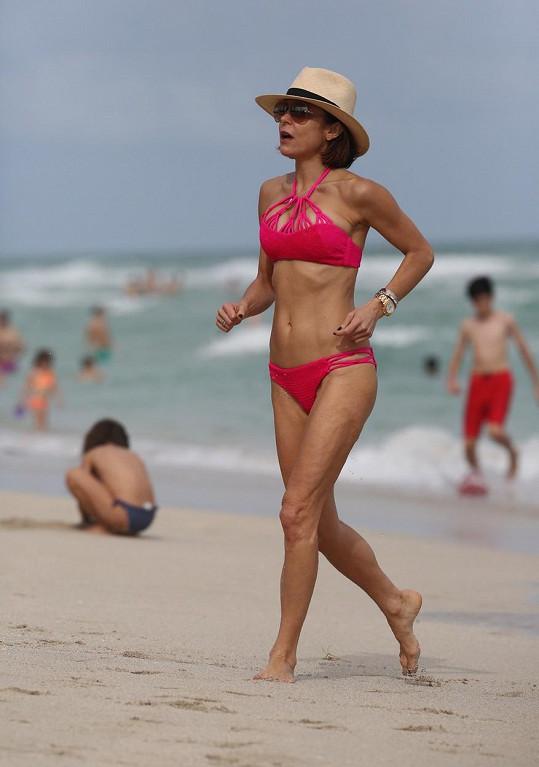 Americká moderátorka strávila několik dní na Miami.
