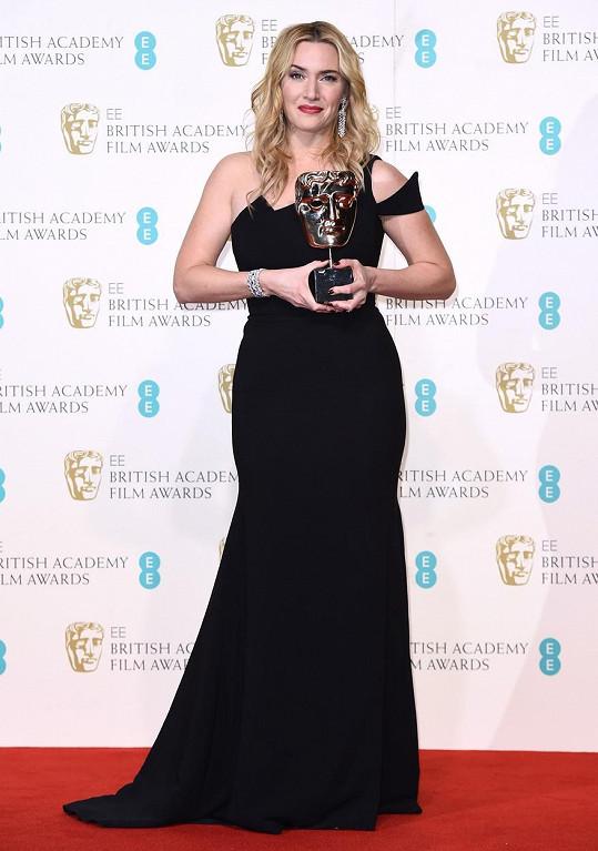 Kate má ve své sbírce třetí cenu BAFTA.