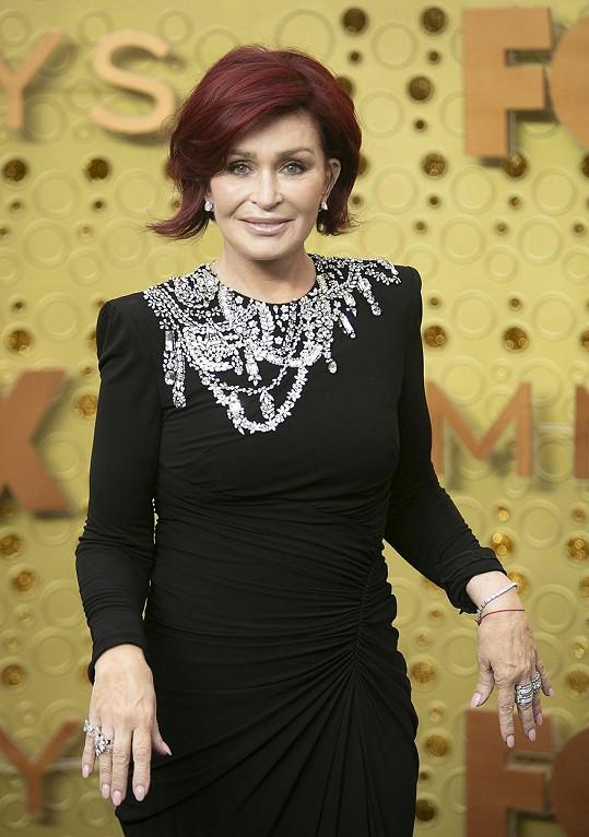 Sharon Osbourne začal unikat silikon do těla.