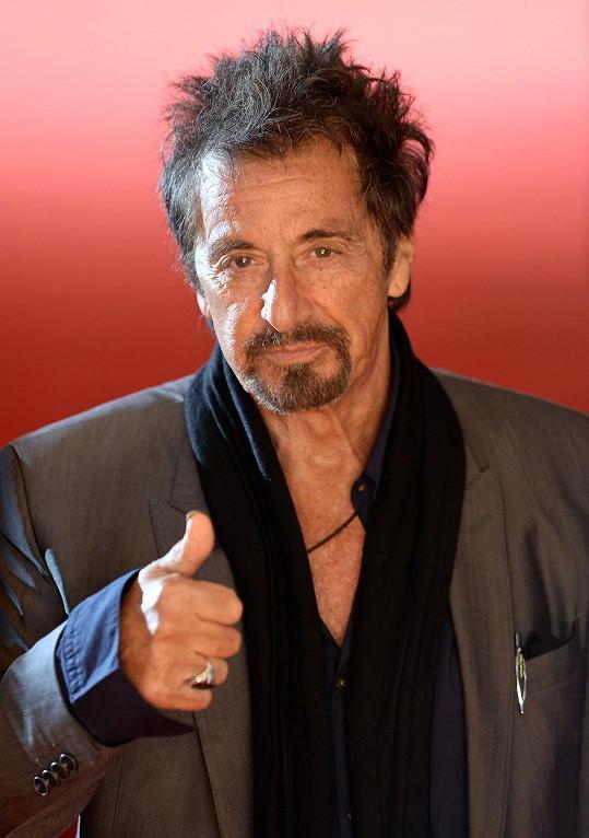 Al Pacino si děti pořídil až v pozdějším věku.