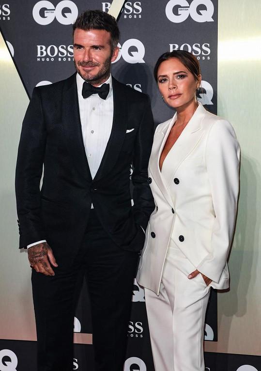 S manželem Davidem Beckhamem