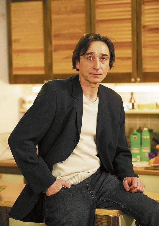 Ondřej Pavelka hrál léta v seriálu Ulice.