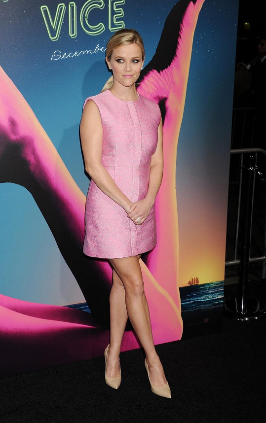 Reese Witherspoon na premiéře filmu Inherent Vice.