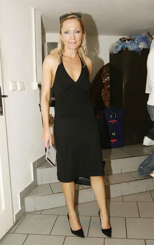 Bára Basiková v roce 2006, tehdy byla za blondýnku.