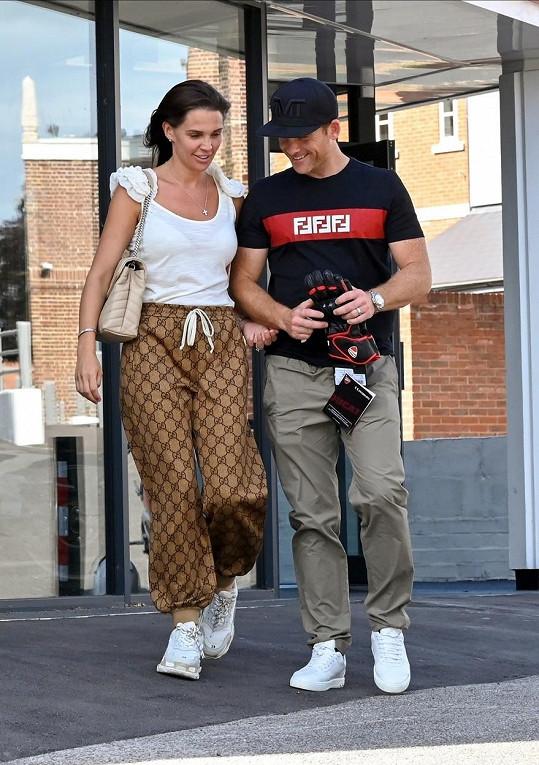Danielle Lloyd s manželem Michaelem O'Neilem