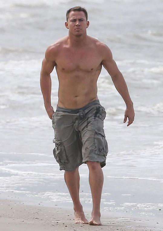 V září roku 2014 byl Channing svalnatý frajer.
