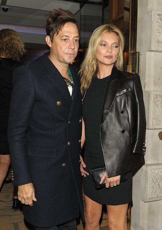 Kate Moss a Jamie Hince