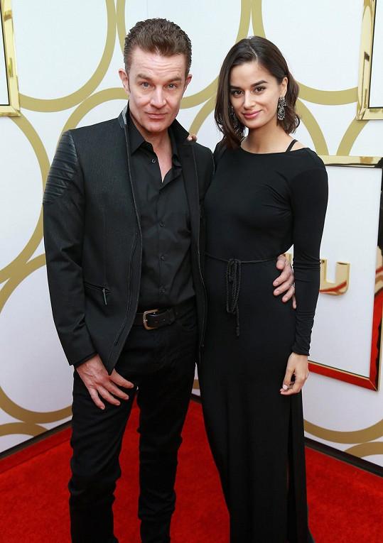James Marsters s manželkou Patriciou Rahman