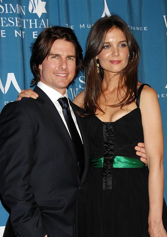 Tom Cruise ještě s Katie Holmes