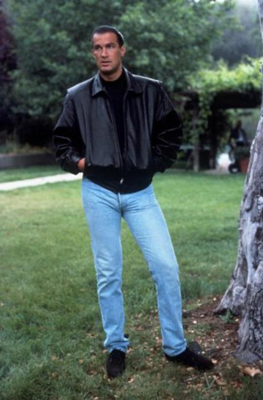 Takhle štíhlý byl v 90. letech, v době největší slávy...