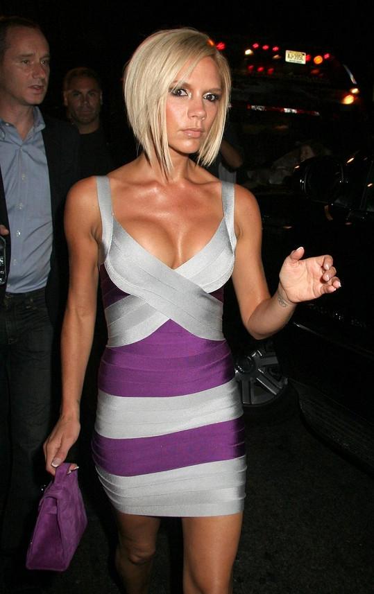 Victoria v roce 2007 na přehlídce Marca Jacobse.