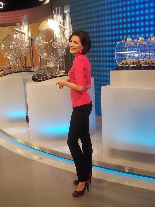 Goščíková je nejen herečkou a ředitelkou divadla, ale nově také moderátorkou.