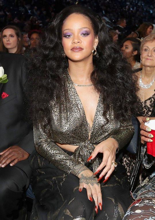 Rihanna v publiku
