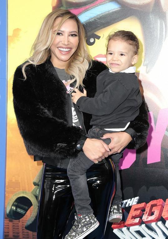 Naya Rivera se synem Joseym