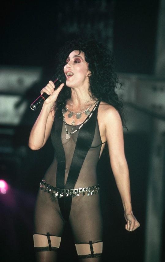 Cher se s tím vůbec nepárala...