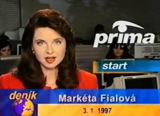 Markéta Fialová na Premiéře respektive Primě začínala.