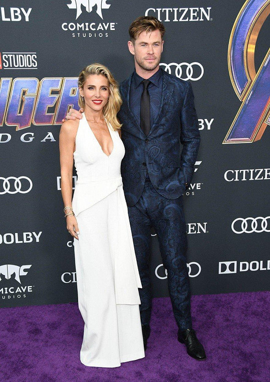 Chris Hemsworth a Elsa Pataky