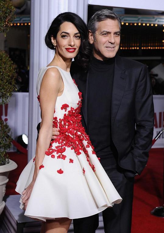 George a Amal Clooney