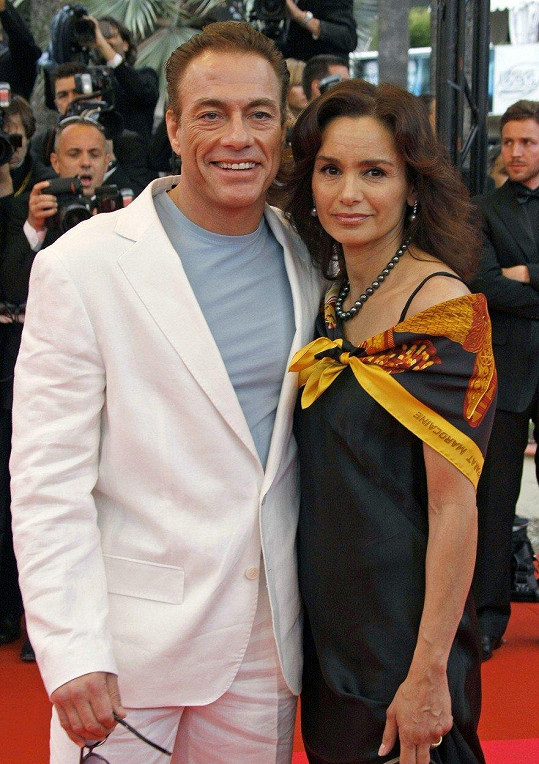 Jean-Claude Van Damme a Gladys Portugues