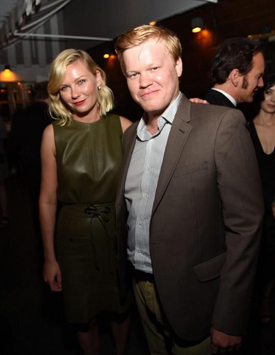 Kirsten Dunst se snoubencem Jessem Plemonsem