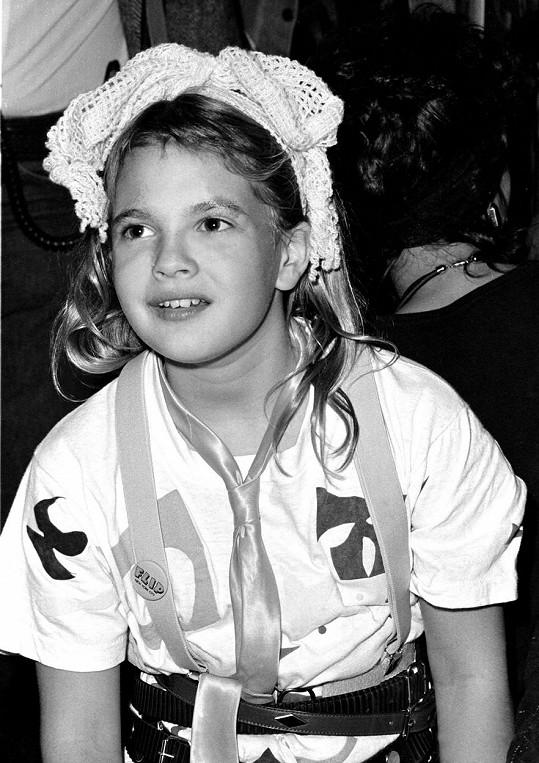 Drew Barrymore prožila bouřlivé dětství.